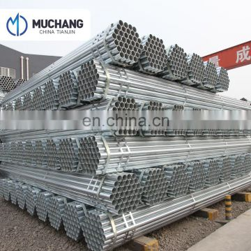 high pressure galvanised mild steel welded pipe