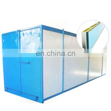 Automatic powder coating booth for aluminium profiles 56