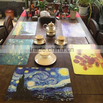 Food Grade Carton Children Cute Plastic Customized kitchen table mat                                                                         Quality Choice