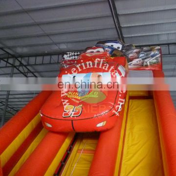 giant inflatable slide, inflatable car slide, inflatable slide cars for sale