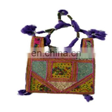 braid handle ethnic long shoulder handle bags