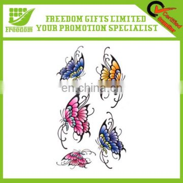 Newest Cute Cheaper Promotional Gifts Body Tattoo Sticker