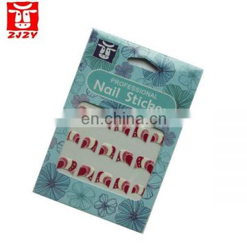french manicure nail sticker
