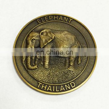 2016 specialized US style gold coins for souvenir with custom logo