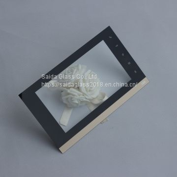 0.55mm 0.7mm 1.1mm custom display touch panel protection cover glass