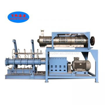 Small and large scale pet dog food extrusion making machine