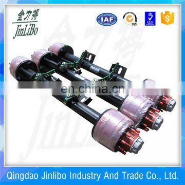 Cheap price duty trailer semi truck spare parts English type axle