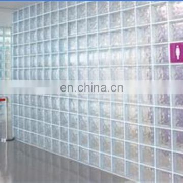 China manufacturer low price clear solid glass brick