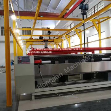 Automatic electroplating production line for the rotogravure cylinder