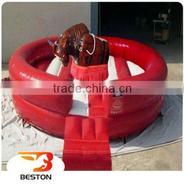 Best price hot sale inflatable mechanical rodeo bull,inflatable riding machine for rodeo game