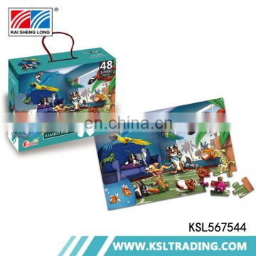 OEM 500pcs High quality funny jigsaw puzzle educational toys for sale