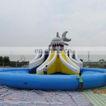 inflatable games,giant inflatable water pool slide