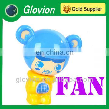 Glovion Hot sell happy mini handy fan for kids