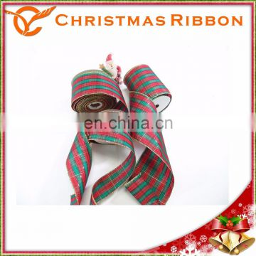 High Quality Red And Emerald Pattern Christmas Nastro