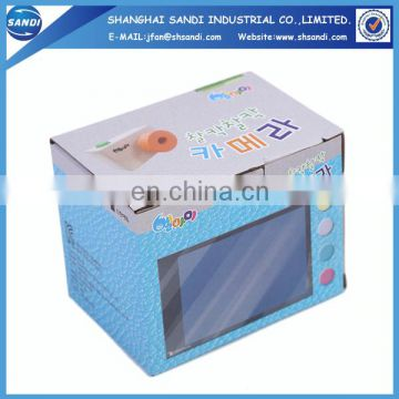 Custom full color printed packaging corrugated paper box