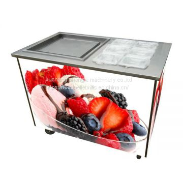 Wholesale WF1120 Flat Pan Fried Ice Cream Machine, Roller Ice Cream Machine