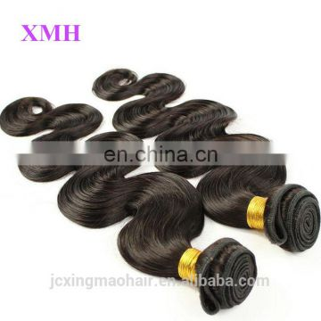 Hot Sale Unprocessed Brazilian Human Hair Extensions Body Wave Weave Hair Brazilian Virgin