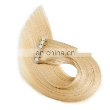 8A Top quality 100% brazilian human remy hair weave straight tape hair weave