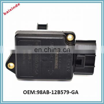 BAIXINDE Automotive MAF Mass Air Flow Meter Sensors For Ford OEM 98AB12B579GA 98AB-12B579-GA