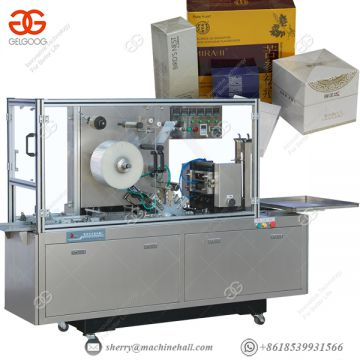 Automatic Cellophane Wrapping Machine Bopp Portable Shrink Wrap Machine