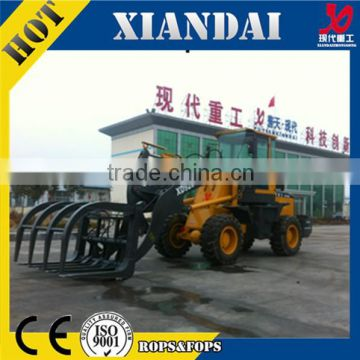 XD926G 2.0Ton alibaba express Grass Grasp Loader Clamp with CE FOR SALE Multifuntional Farm Machinery made in china