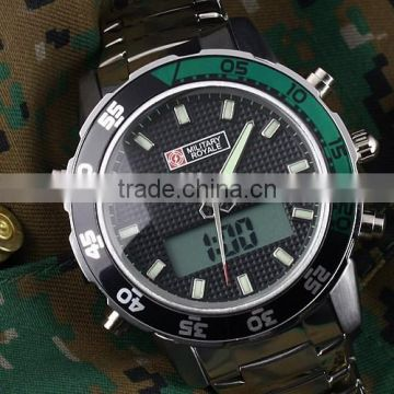 MR039 NEW MILITARY ROYALE MENS QUARTZ ANALOTG WATCH