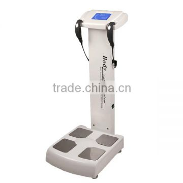 Body fat analyzer machine,8-inch LCD touchscreen,can detecet various elements of human body and analyse human health status