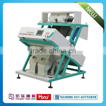 Mung bean CCD color sorter machine from Hons+ company, China