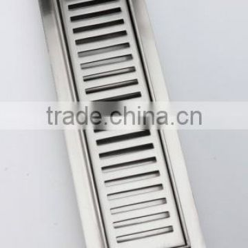 Shower floor drain with grid or tile use stainless steel 25cm