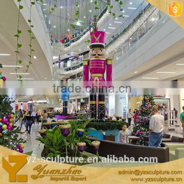 large fiberglass cartoon scupture for market decoration
