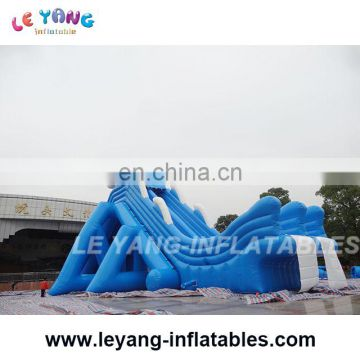 46m long Commercial grade mobile water amusement slide / mini inflatable water theme park