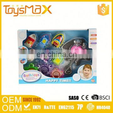 Promotion Gift Plastic Rubber tub town bath toy