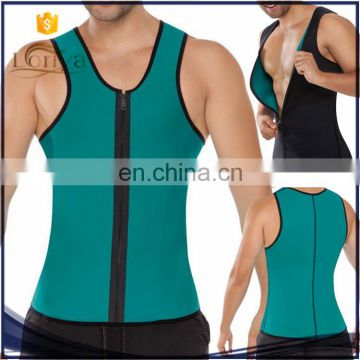 95cabfe2c5 Fashion Mens Body Shaper Thermo Sweat Neoprene Men Zipper Corset of New  Products from China Suppliers - 158084346