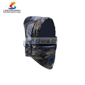 Wholesale multifunction polyester taffeta polar fleece hats caps ski face mask winter outdoor balaclava