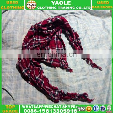 High Quality Women Scarf Used Clothes In Bale