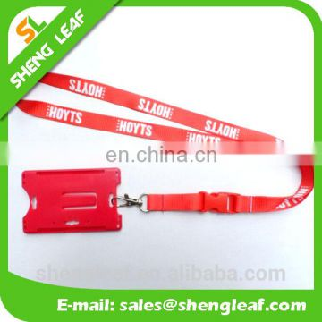 Decorative High Quality Polyester Custom Screen Print Woven Heat Transfer Sublimation Lanyard