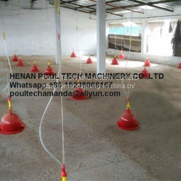 Chicken Farming Automatic Drinker & Plasson Drinker & Bell Shape Drinker & Chicken Waterer & Plastic Drinker for Congo
