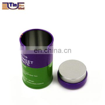 Small Round Tea Tin Box