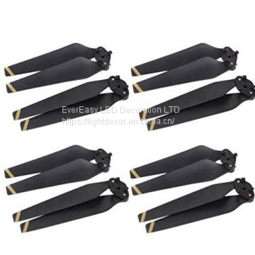 Folded Propeller Blades, Carbon Fiber Composite Folding Propeller Props Blades for Dji Mavic PRO
