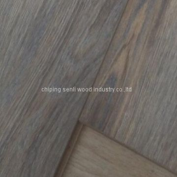 7mm small embossed V groove HDF AC4 Class32 pisos laminados