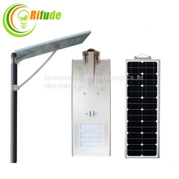 Outdoor Lighting All In One Integrated Solar 100W LED Street Light LED Road Lamp