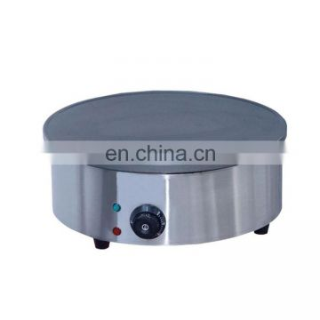 Commercial Teflon Coated Gas Type 2-PlateCrepeMaker, PancakeMakerwith Stainless Steel Housing