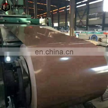 prepainted galvanized color coated coil  ppgi steel coil/price hot dipped galvanized steel coil