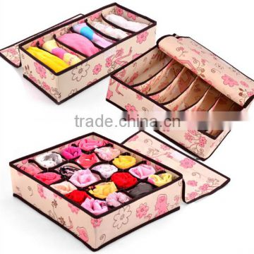 2014 Colorful New Design Three-Piece Storage Box Sale With The Open Front For Home Use