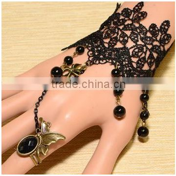Cute hand accessories with ring fashion bracelet