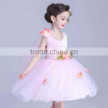 3596dafd1 2017 Girls Dress Up Games Names With Pictures Ivory Jacquard Bodice With  Tulle Skirt Removable Sashes of girls wedding dress from China Suppliers -  ...