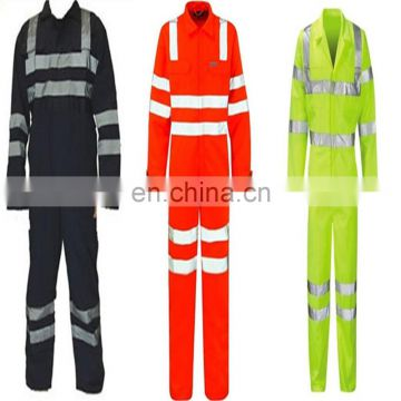 hi vis safety coverall for oil and gas
