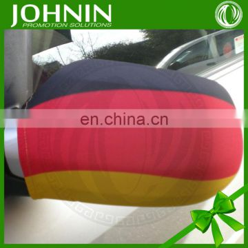 European cup promotional gifts custom german car mirror flag