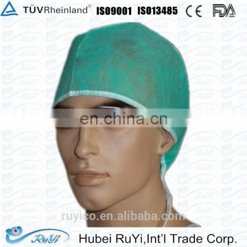 non -woven doctor / surgical cap with ties