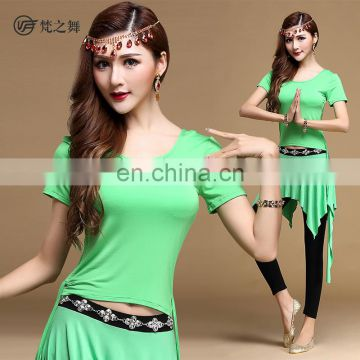 T-5120 High quality modal special designed nice belly dance costumes with size M L